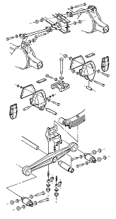 repair instructions equalizing beam replacement 2004 gmc truck