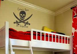 Pirate Room Decor Pirate Wall Decals Nursery Baby Room Pirate Wall Decals
