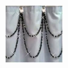 Double Shower Curtains With Valance Double Swag Shower Curtain Foter