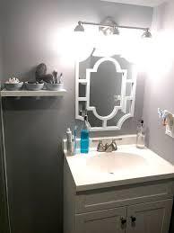 floating terra cotta pot shelf bathroom organization hometalk
