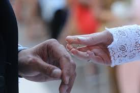 sample wedding ring ceremony vows say