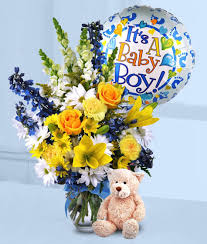balloon delivery rochester ny baby boy wow an all in one bouquet kittelberger