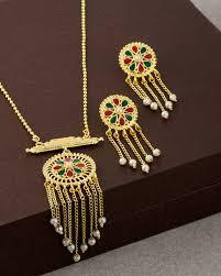 elegant necklace set images Buy designer necklace sets elegant necklace set with gold plating jpg