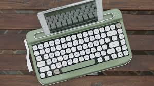black friday bluetooth keyboard penna a vintage typewriter inspired bluetooth keyboard design milk