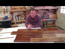 Clear Coat For Wood Floors How To Finish Walnut For Great Color In Woodworking Projects Youtube