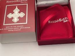 2016 cross 46th ed sterling silver ornament by reed