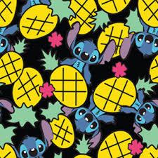 disney lilo stitch pineapple print design otterbox defender