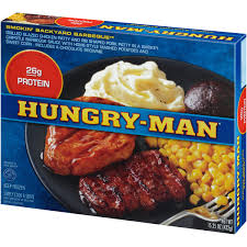 hungry man smokin backyard barbeque 15 25 oz box walmart com