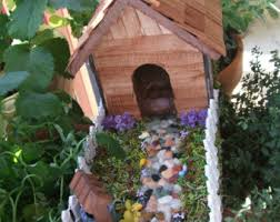Wishing Well Garden Decor Gnome Wishing Well Etsy