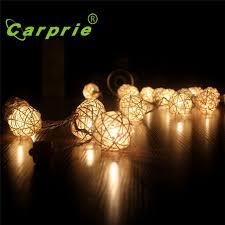 warm white string fairy lights super 20 led warm white rattan ball string fairy lights for xmas