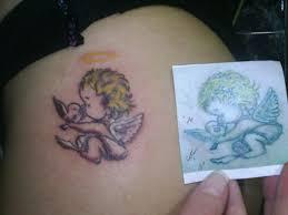 25 wonderful baby angel tattoos slodive