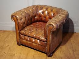 Leather Chesterfield Armchair Sold Antique Brown Leather Chesterfield Armchair Antique Sold