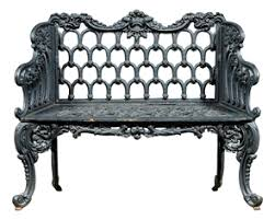 Horseshoe Bench Antique Garden Furnishings Furniture Clocks U0026 Lighting Price