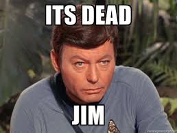 Dead Meme - image 715142 he s dead jim it s dead jim know your meme