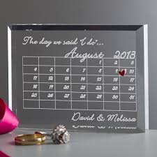 customized anniversary gifts personalized 10 year anniversary gifts for him lamoureph