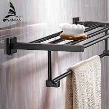 bathroom towel hanging ideas bath towel rack bikepool co