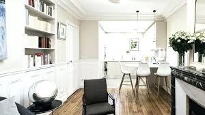 salon et cuisine ouverte cuisine ouverte sur salon cuisine en plan travail