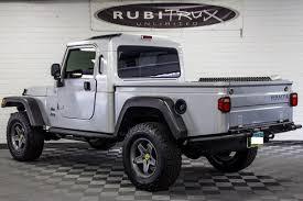 jeep pickup brute pre owned 2006 jeep wrangler rubicon brute conversion silver