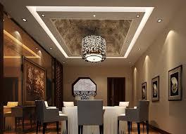 pittura soffitto sala da pranzo semplice decorazione soffitto con ladario