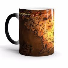 the lord of the rings coffee mug color change cup ceramic funny
