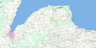 Sound Map Owen Sound On Maps Online Free Topographic Map Sheet 041a10 At 1