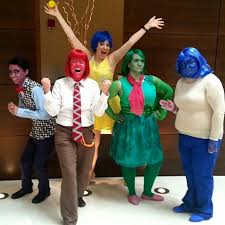 inside out costumes aother of s emotions inside out costumes with fear