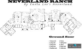 california floor plans michael jackson u0027s neverland valley ranch u2013 5225 figueroa mountain