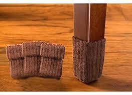 nancyprotectztm large brown hardwood floor chair leg protector