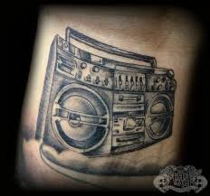 boombox by state of art tattoo on deviantart