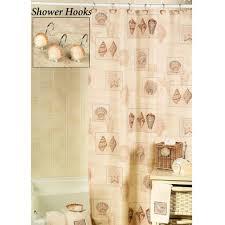 Seashell Shower Curtains Uncategorized Mesmerizing Seashell Shower Curtain Astounding