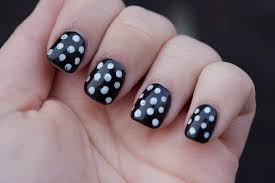 nail designs in black and white images nail art designs