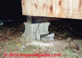 unsafe or dodgy deck posts deck post construction u0026 inspection
