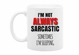 funny sarcastic christmas gift funny quote mug funny