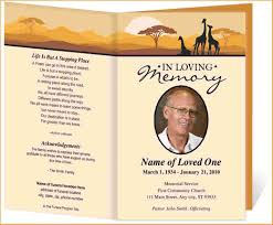 templates for funeral program funeral program templates questionnaire template