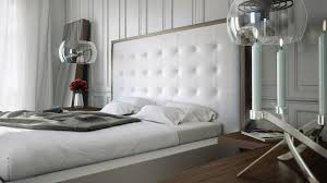 Walnut And White Bedroom Furniture Siena Bed White On Walnut Zuri Furniture