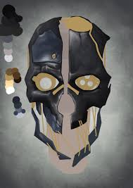 Dishonored Mask Dishonored Mask Wip 2 By Elfios On Deviantart
