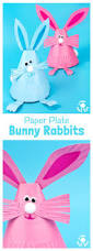 adorable paper plate rabbit craft rabbit crafts bunny crafts