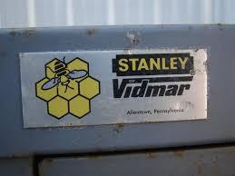 Stanley Vidmar Cabinet Locks Stanley Vidmar 6 Drawer Tool Storage Cabinet Grey 45x27 1 2x57