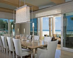 Contemporary Crystal Dining Room Chandeliers Home Design Ideas - Crystal chandelier dining room