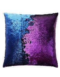 purple blue mermaid pillow mermaid pillow