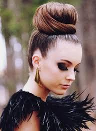big bun hair can you say glam hair big bun makeup and