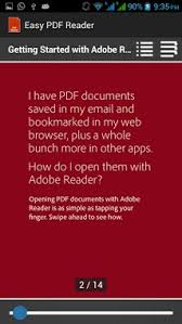 adobe reader android apk easy pdf reader apk for android