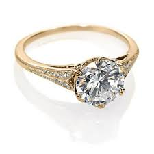 gold vintage engagement rings yellow gold vintage engagement ring antique inspired design