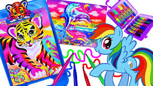 lisa frank coloring set magic pet color changing imagine ink my
