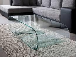 glastische wohnzimmer glastisch couchtisch auf rollen länge 90 cm glasdesign