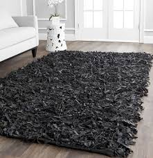 Large Area Rugs For Sale Amazon Com Safavieh Leather Shag Collection Lsg511a Hand Woven