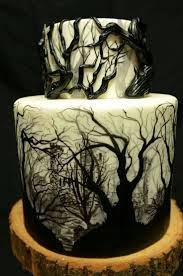 Easy Halloween Cake Decorating Ideas Best 20 Halloween Wedding Cakes Ideas On Pinterest Gothic