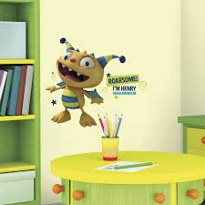 roommates rmk2675gm henry hugglemonster peel and stick giant wall roommates rmk2675gm henry hugglemonster peel and stick giant wall decals amazon com