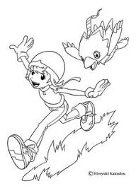 digimon coloring pages kids printable free coloring pages