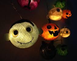 Halloween Lights Halloween Lights Etsy